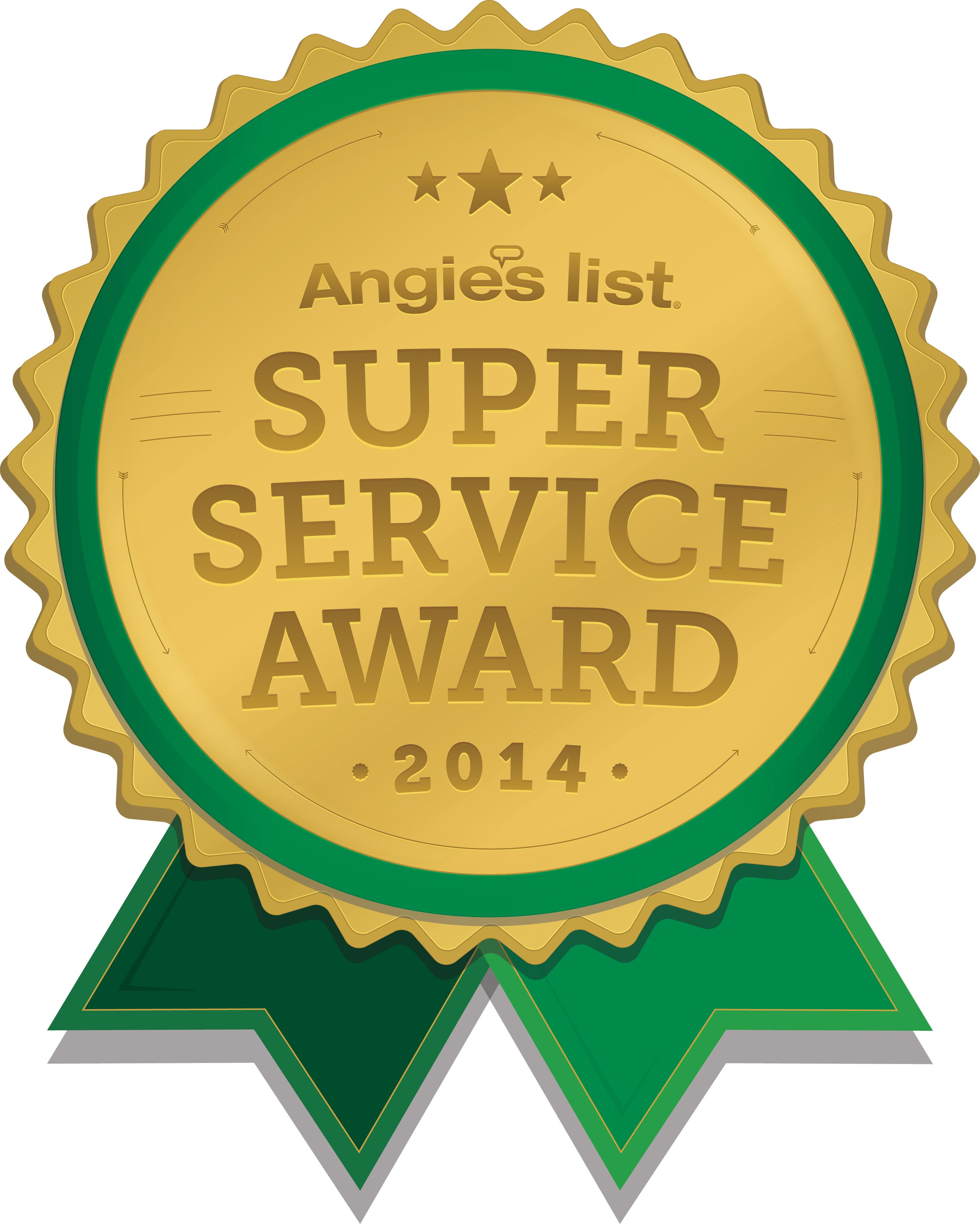 Windows on Washington Earns 2014 Angie's List Super Service Award