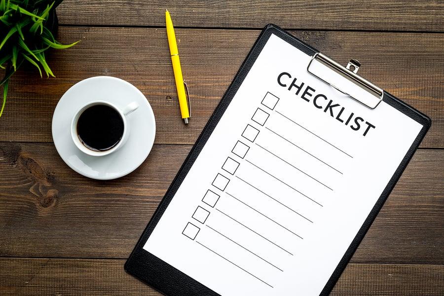 replacement windows checklist