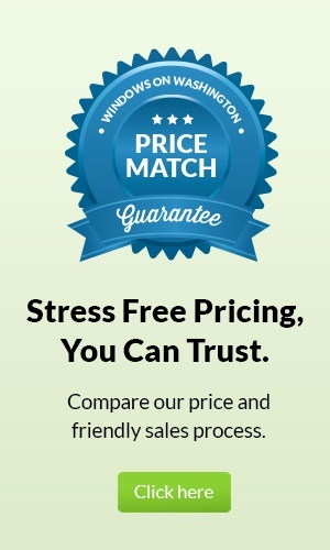 Windows on Washington Price Match Guarantee