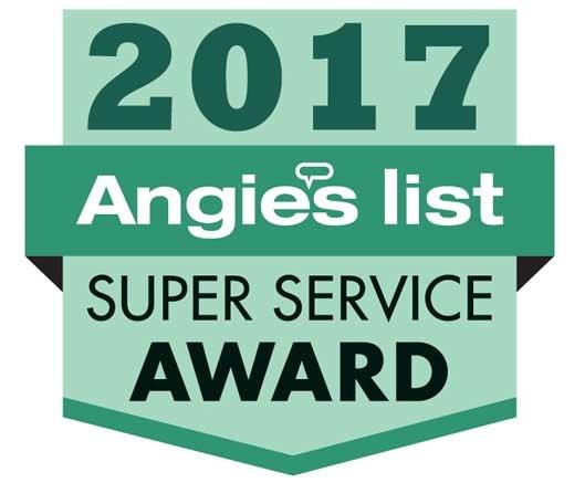 Windows on Washington – Recipients of Angie's List Super Service Award 2017