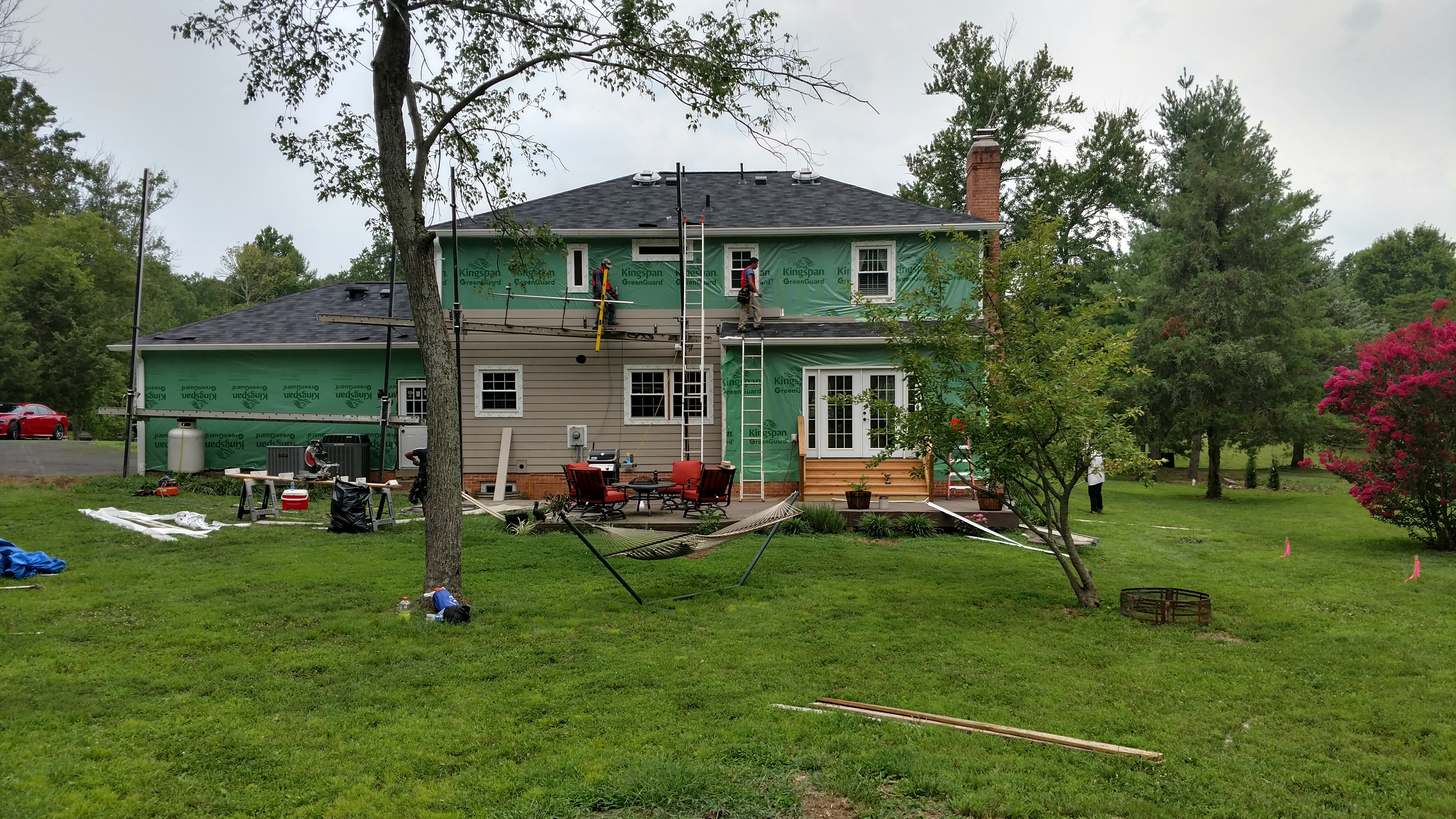 Replacement Windows, Siding, Air  Sealing & Insulation and Entry Doors McLean VA [Client Project]